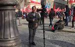 پشت صحنههایی جالب از خبرنگاران حین تهیه گزارش + فیلم