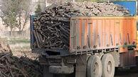 کشف چوب های قاچاق در اقلید