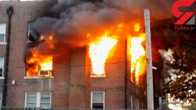 انفجار شدید گاز در چهار محال و بختیاری با یک مصدوم