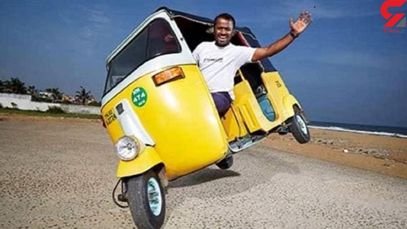 رانندگی این مرد هندی در گینس ثبت شد + فیلم