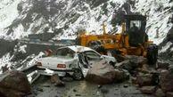 هشدار به رانندگان در جاده های البرز / خطر ریزش سنگ وجود دارد