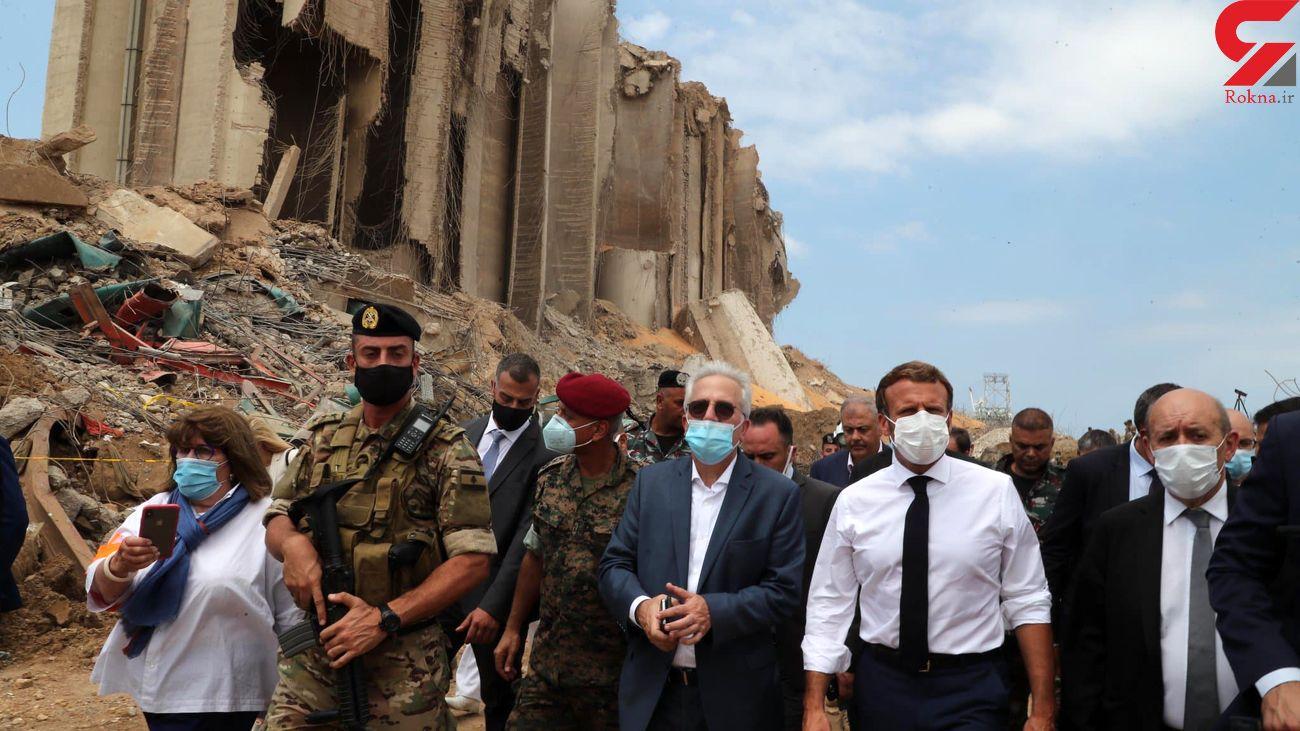 وضعیت لبنان پس از سفر ماکرون