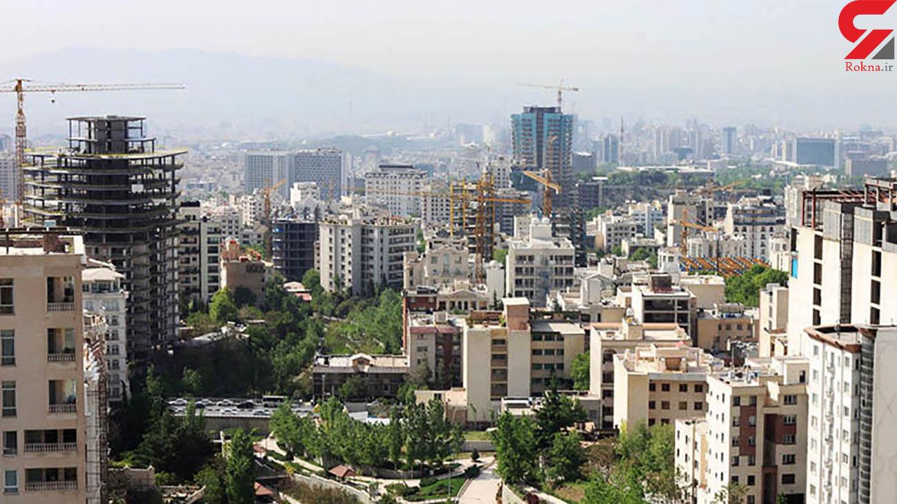 قیمت آپارتمان در ۳ منطقه پرمعامله تهران +جدول