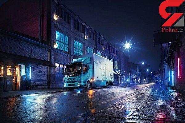 نخستین کامیون تمام الکتریکی توسط ولوو تولید شد