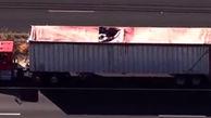 سقوط مرگبار یک چترباز روی یک کامیون + عکس عجیب  / امریکا