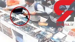 آسانترین سرقت از جواهر فروشی / مردان مسلح خونسرد بودند  + فیلم /  هند