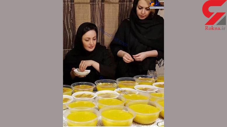 عزاداری شیلا خداداد در ماه محرم + عکس