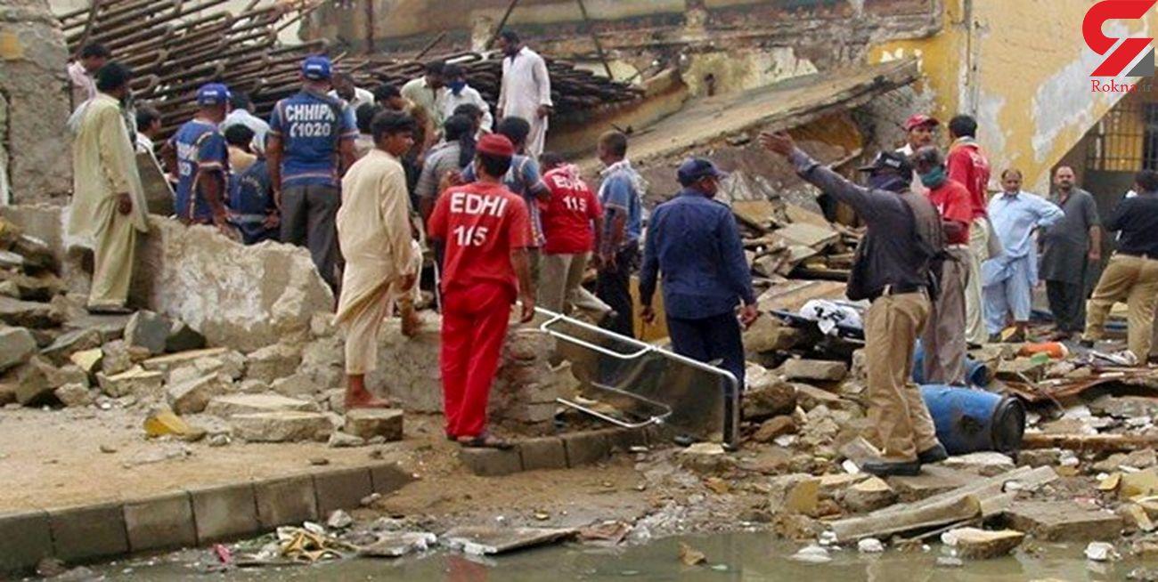 25 کشته و زخمی در انفجار یک کارخانه در کراچی