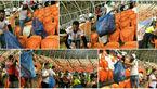 بازتاب کار خوب تماشاگران ایرانی در استادیوم پرتغال +عکس