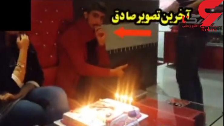 آخرین فیلم از جوان مهابادی قبل از قتل وحشتناک / ناگفته های دوستان قاتل و صادق برمکی + عکس