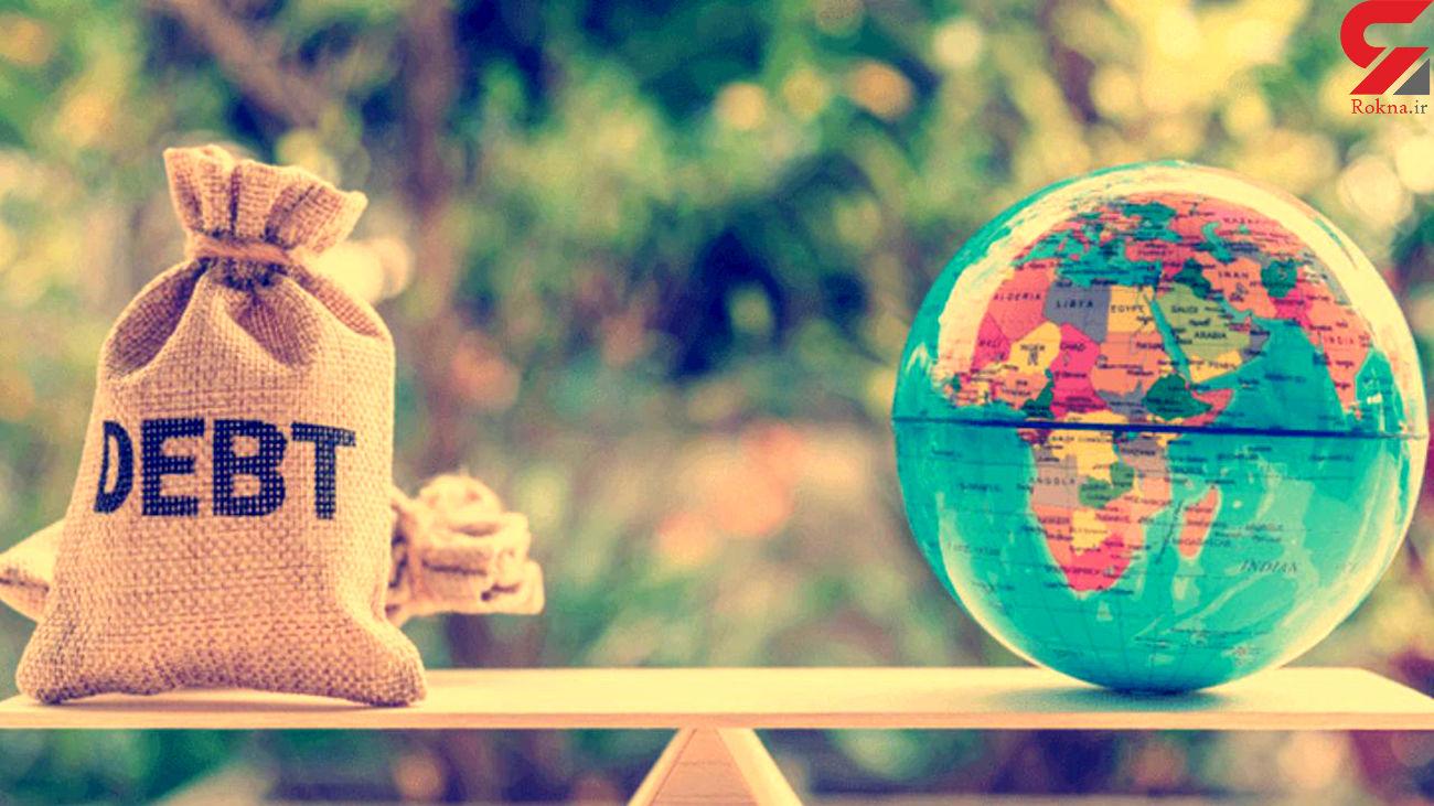کشورهای بدهکار در جهان را بشناسید
