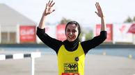 فرزانه فصیحی نایب قهرمان رقابتهای دو ۶۰ متر صربستان