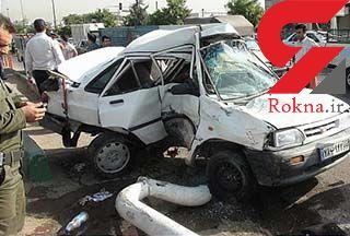 کشته شدن 4 نفر طی 24 ساعته گذشته در حوادث رانندگی/11 نفر مصدوم شدند