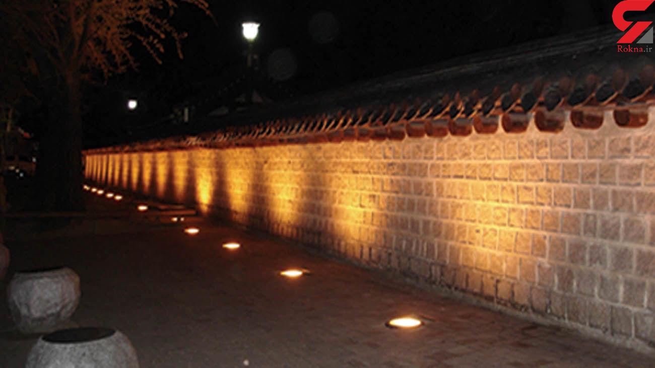ایمن سازی و رفع خطر چراغ های دفنی در پارک های منطقه سه