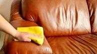 ترفندهای خانگی پاک کردن لکه ها از مبل های چرمی