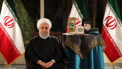 پیام تبریک نوروز 98 حسن روحانی / مردم را در رفاه بیشتر قرار میدهیم +عکس