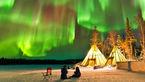شفق قطبی شگفت انگیز