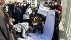 جمعی از دانشجویان و مردم در اعتراض به برخورد حاشیهساز نماینده سراوان تجمع کردند