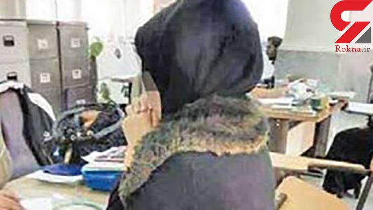 اعتراف دختر 20 ساله کرجی پس از دیدن کارهای خود در دوربین های مداربسته + عکس