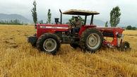 تحویل 11 هزار و 400 دستگاه انواع تراکتور به کشاورزان در شش ماهه نخست امسال