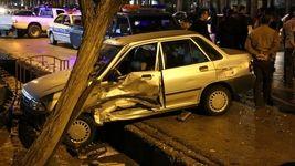 کورس شبانه 2 خودرو در زنجان مرگ آفرین شد + عکس
