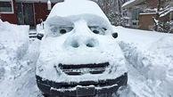 در هوای برفی چگونه شیشه یخ زده ماشین خود را پاک کنیم؟