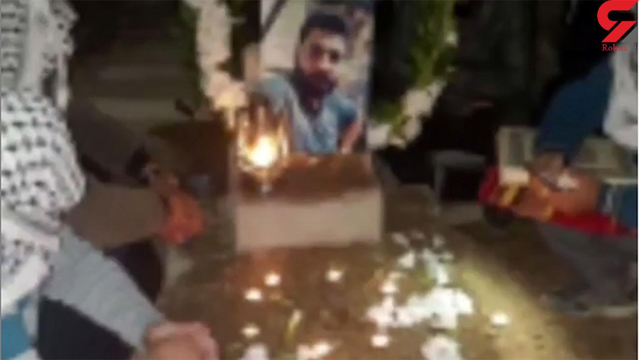 قتل جوان خرمشهری توسط 4 موتورسوار + عکس