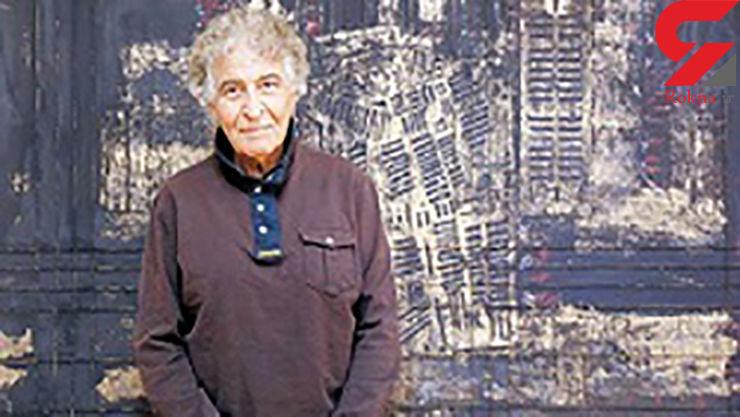 هنرمند با اشتیاق ایرانی درگذشت+ عکس