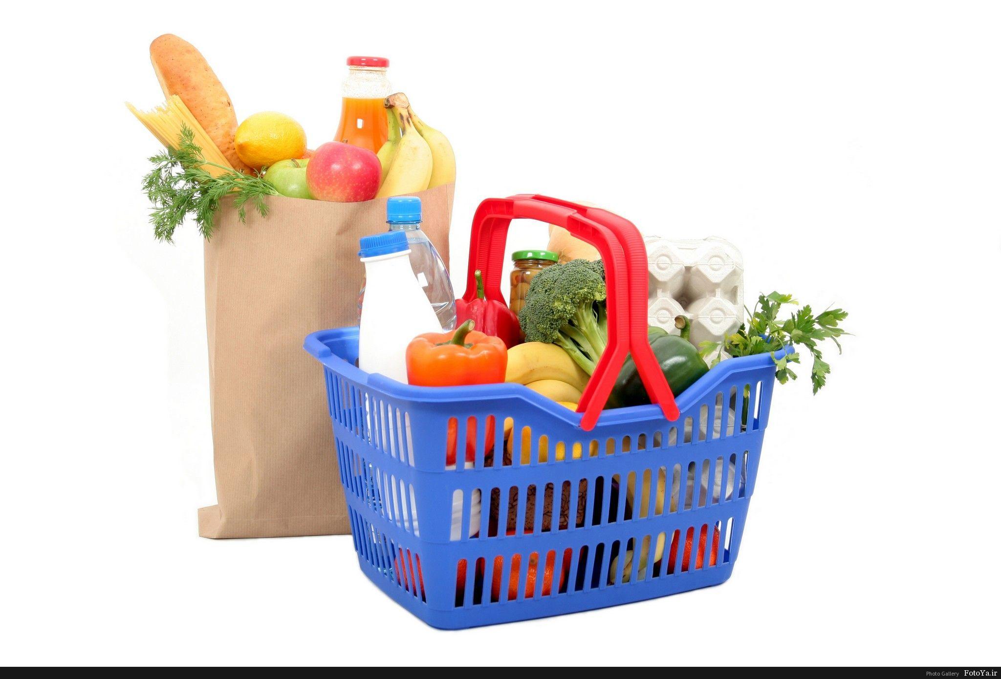 Картинки для детей корзина с продуктами