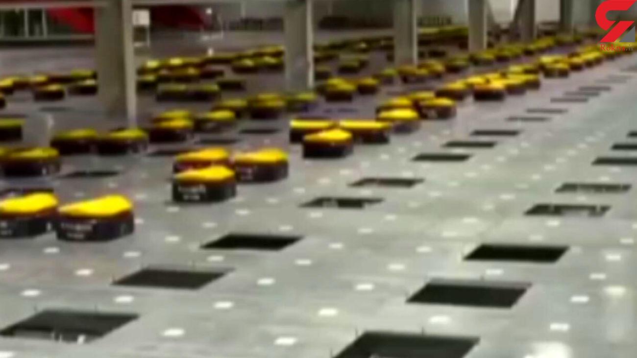 رباتهای پستچی را ببینید + فیلم
