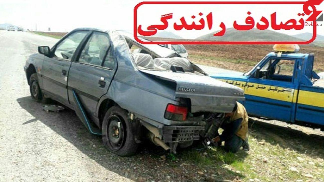 یک کشته و 4 مصدوم در تصادفات جاده ای خراسان رضوی