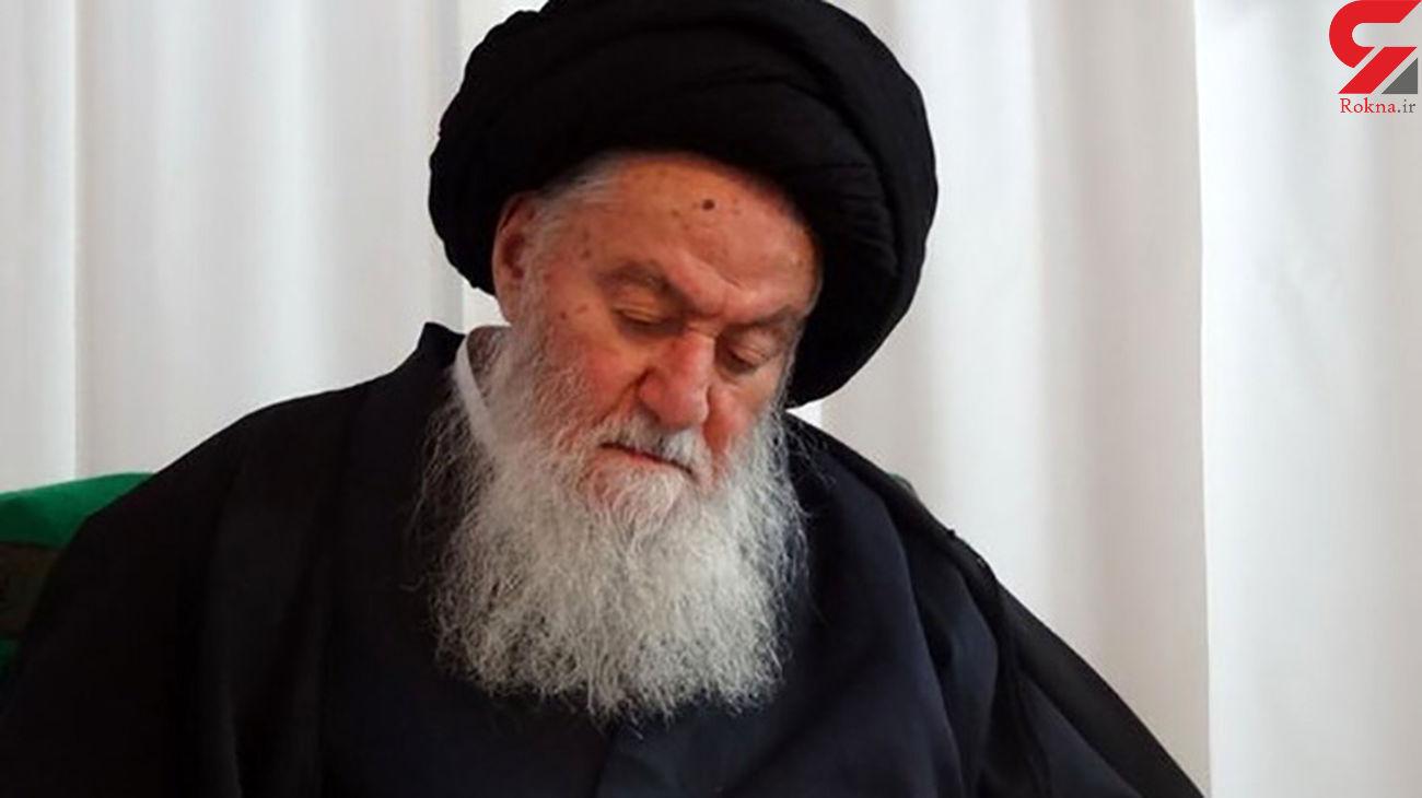 آیتالله سیدمحمد حسینی شاهرودی درگذشت+ عکس