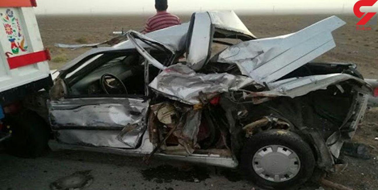 ۷ کشته و مصدوم در ۲ تصادف جادهای