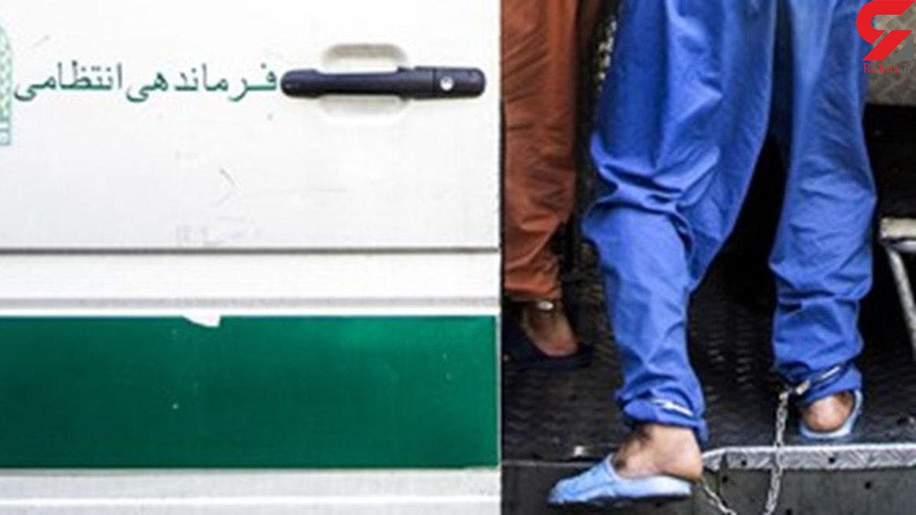 پرسه زنی های شبانهکار دست سارقان لوازم خودرو داد / گرفتاری در دام پلیس تهران