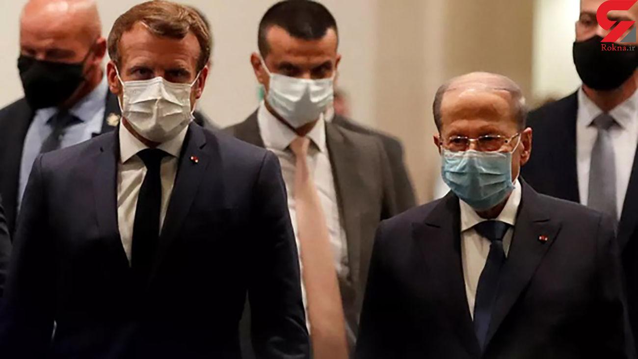 فشار ماکرون به سران سیاسی لبنان