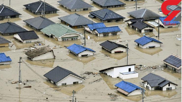 شمار قربانیان سیل در ژاپن به 82 تن رسید