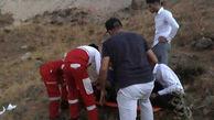 نجات سرنشینان پیکان سقوط کرده به دره ای در قزوین