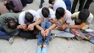 دستگیری اعضای باند اراذل و اوباش در علی آباد کتول