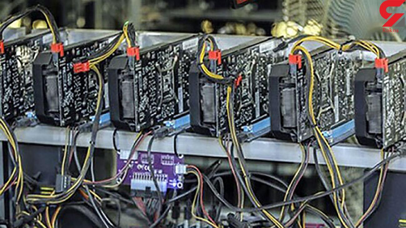 کشف 6 دستگاه استخراج ارز دیجیتال در بشرویه