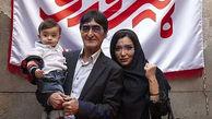 ناصر محمدخانی و همسرش در جشن تولد پسرشان+عکس