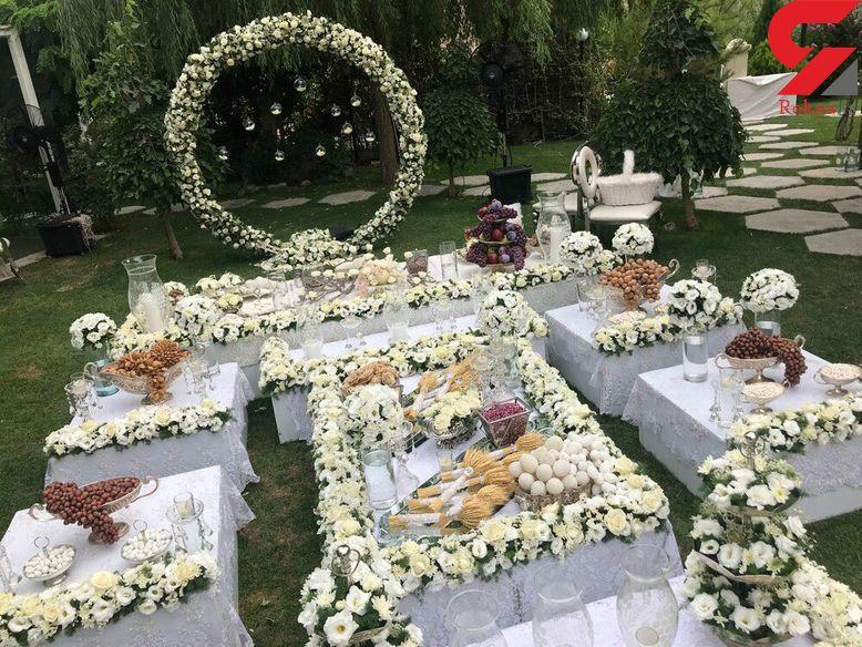 تشریفات عجیب و غریب برای برگزاری عروسیهای لاکچری!