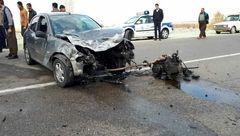 سانحه رانندگی مرگبار در محورشاهین دژ-تکاب+ عکس