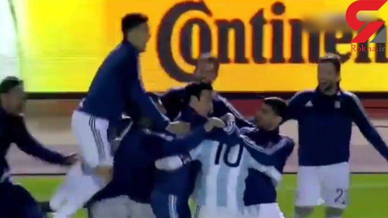 مسی آرژانتین را مسافر جام جهانی 2018 روسیه کرد+فیلم