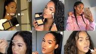 آرایش فریبکارانه مدل معروف برای شهرت / عکس