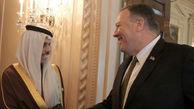 تماس پمپئو با همتای سعودی علیه ایران