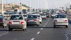 ترافیک در آزاد راه کرج - قزوین و کرج- تهران نیمه سنگین است