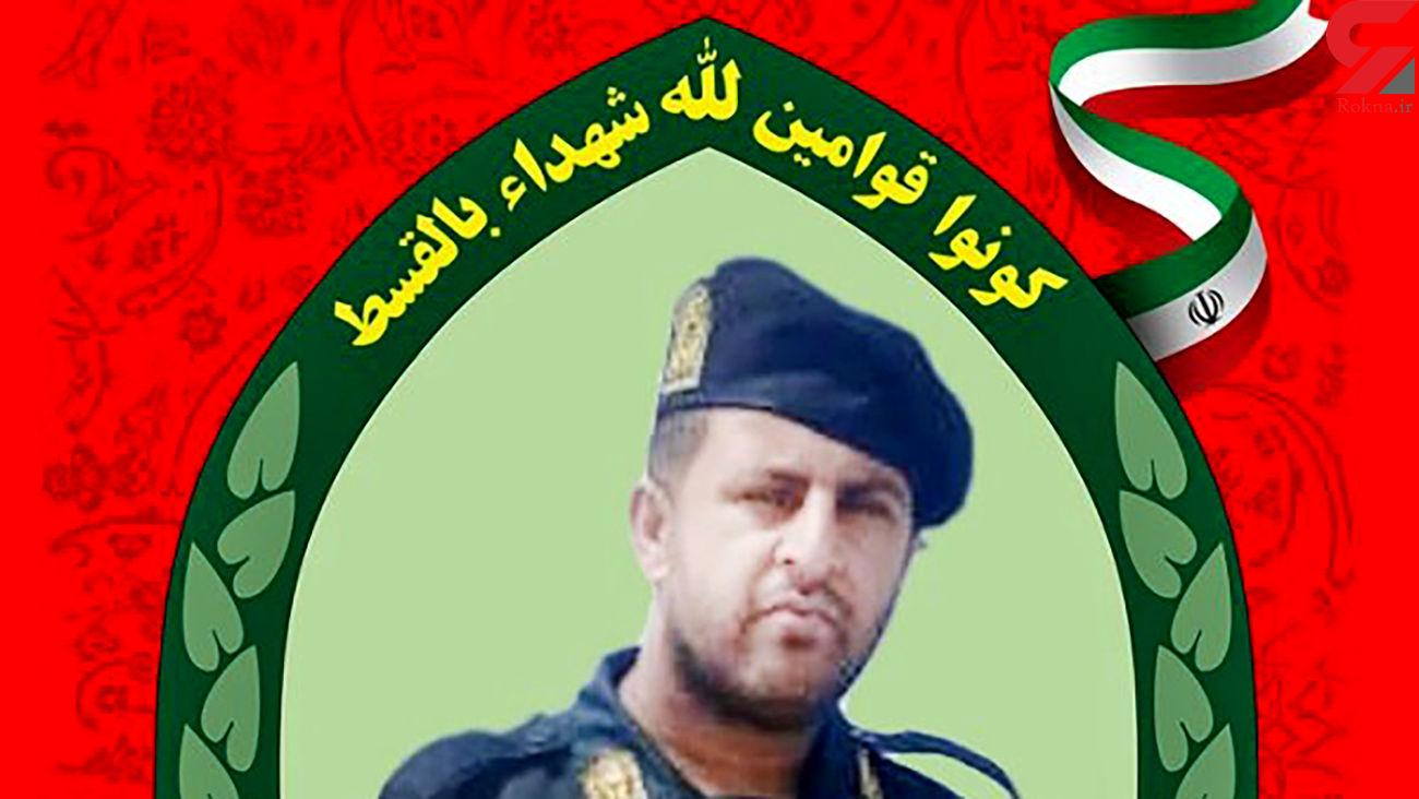 شهادت مامور پلیس بندرعباس با مردان مسلح + عکس