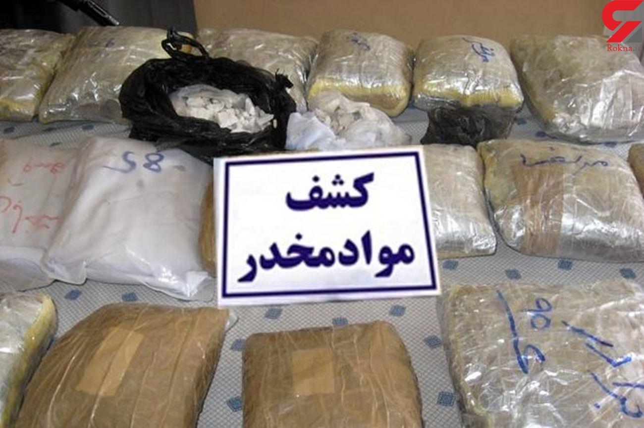 کشف بیش از ۱۱ کیلو مواد مخدر در قزوین