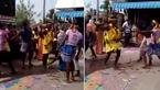 عاقبت رقص هندی وسط خیابان ! + فیلم