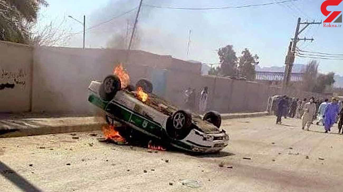 جزئیات حمله به پاسگاه پلیس در مرز سراوان + فیلم و عکس